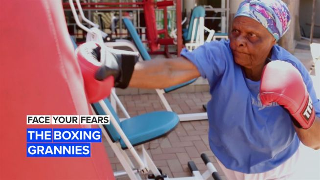 Face Your Fears: These Grannies Practice Boxing