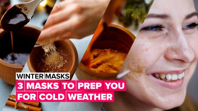 3 Winter glow masks to get your skin ready for the cold