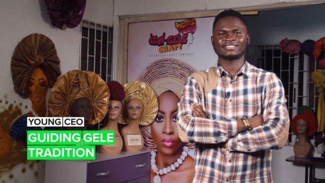 Young CEO: Teaching Nigerians the tricks of the trade, one gele at a time