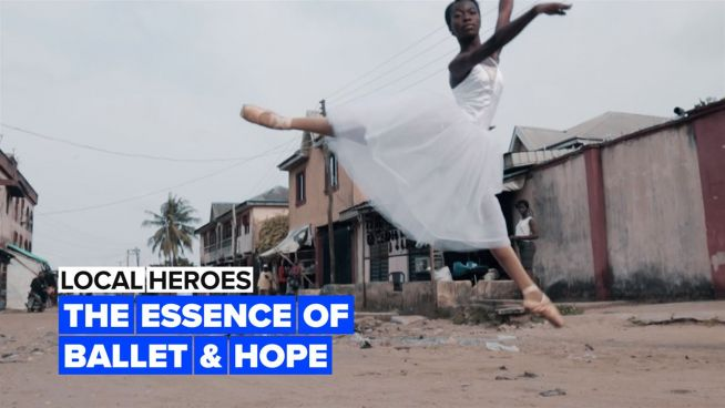 Local Heroes: The dance academy teaching kids to take a leap of faith