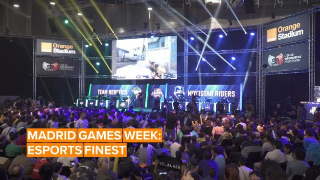 The best eSports moments and matches at Madrid Games Week