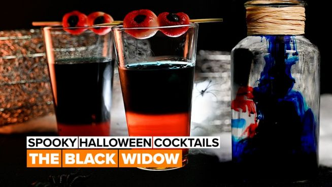 Spooky Halloween Cocktails: The Black Widow