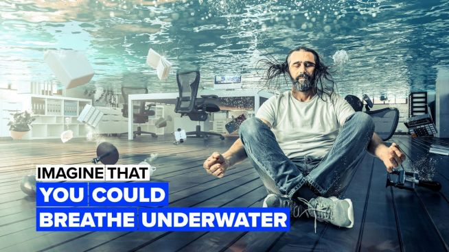 Imagine you could breathe underwater