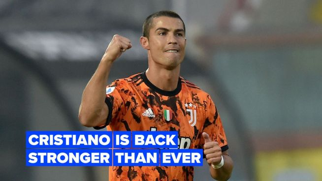 Cristiano is back stronger than ever