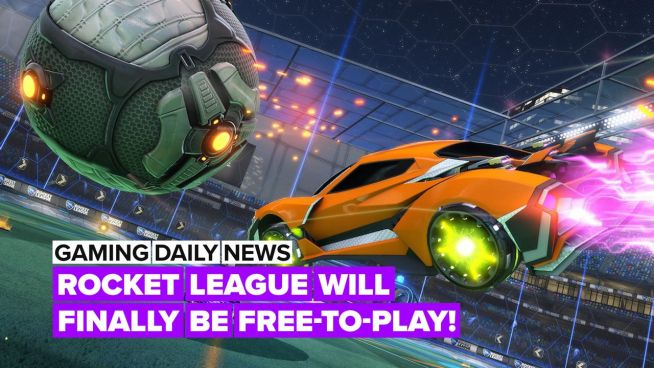 Rocket League's gonna be free-to-play… but not for everyone!