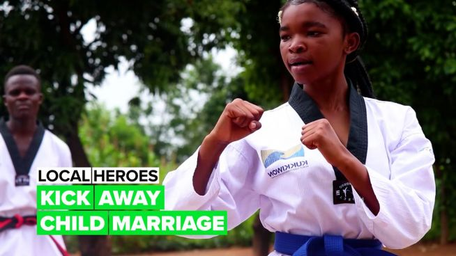 Local Heroes: Kicking away child marriage