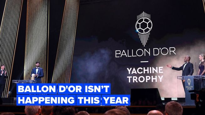 Sorry football fans, the Ballon d'Or won't be happening this year