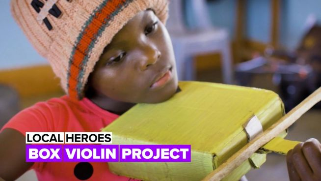 Local heroes: The violin paradise for children in Kenya