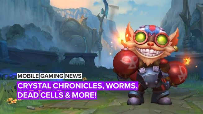Mobile Gaming News: Crystal Chronicles, Worms, Dead Cells and more!