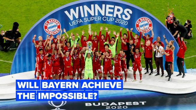 Bayern Munich is just one step away from making history