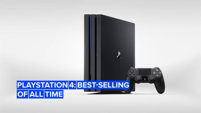 PlayStation 4 is the second best-selling console of all time