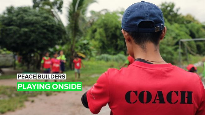 Peace Builders: The young coach empowering kids through football