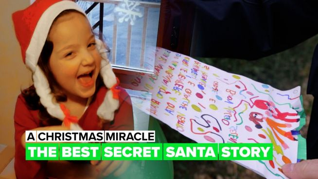 This will be the best secret Santa story you've ever heard