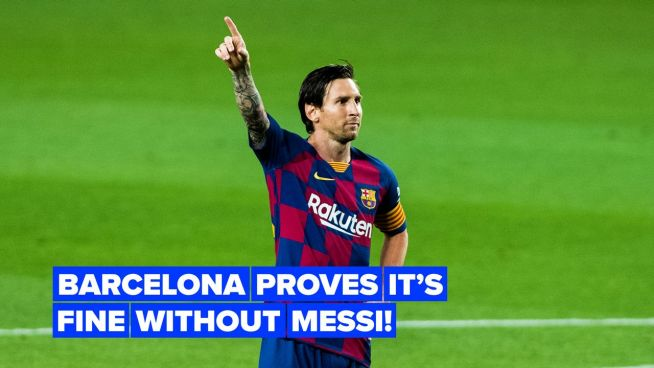 Barcelona's future is looking bright, even without Messi