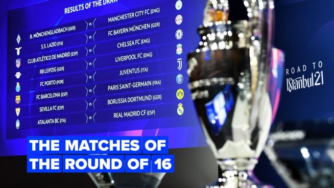 The best matches of the UCL round of 16