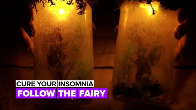 Cure your insomnia: Fairy lights