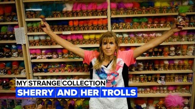 My strange collection: This lady's trolls will out-troll all trolls