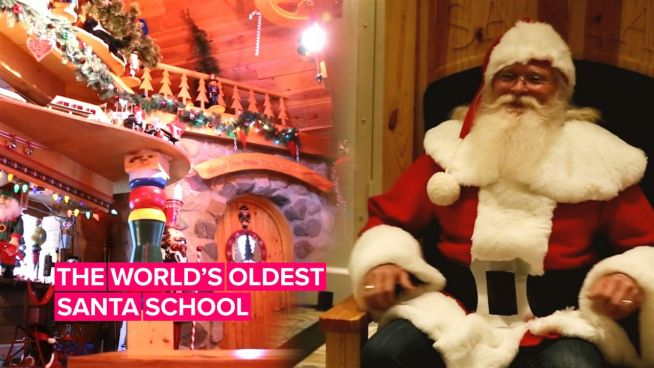 An inside look into the world's first Santa School