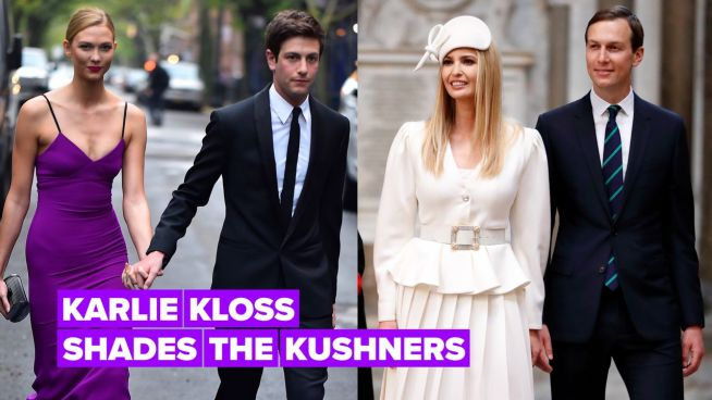 """Karlie Kloss reveals she's """"tried"""" to talk to in-laws Ivanka & Jared"""