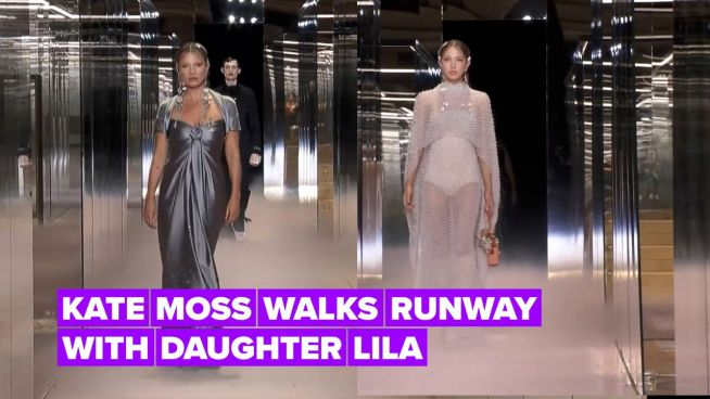 Fendi brings out famous fashion families for Kim Jones' couture runway debut