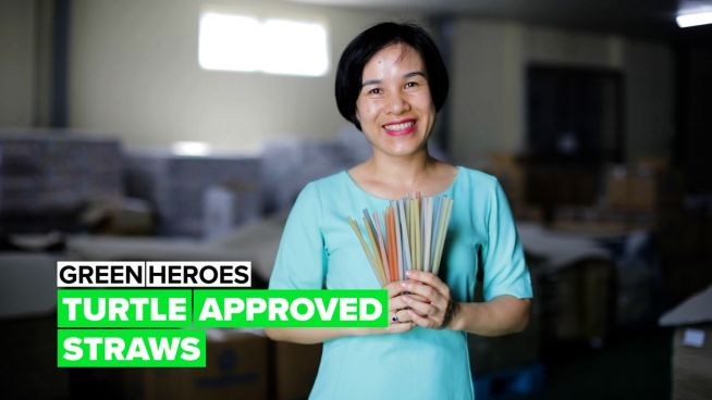 Green Heroes: Finally, straws that you don't need to feel guilty about!