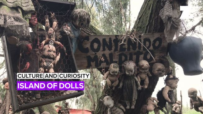 The Island of Dolls has a story to tell