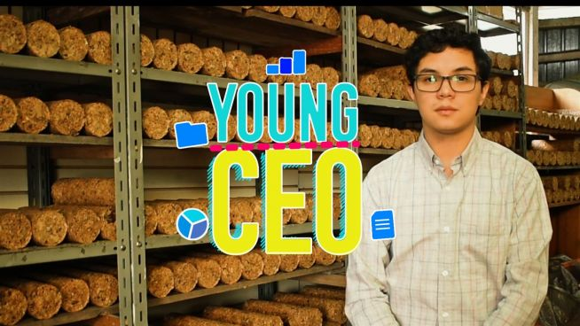 Young CEO: The inventor of the eco-log did it all at 9