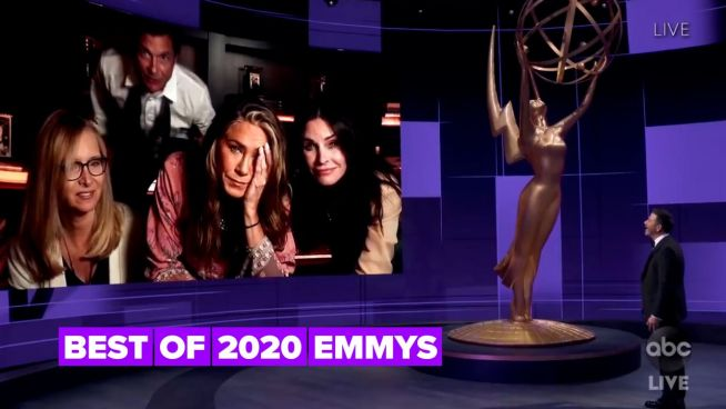 The virtual Emmys were weird, wonderful and kind of awkward