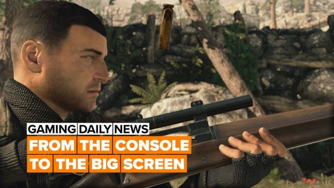 Sniper Elite is being turned into a movie