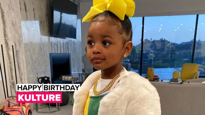 Cardi B gets emotional as baby Kulture turns two