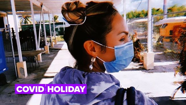 Covid won't stop Naomi Campbell or Candice Swanepoel from going on Christmas vacation