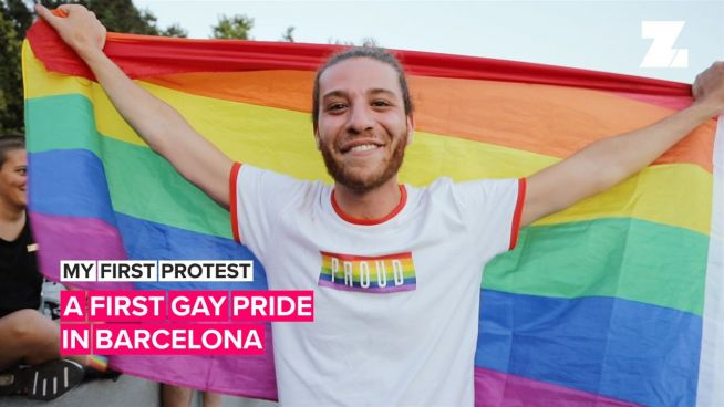 My First Protest: A first gay pride in Barcelona