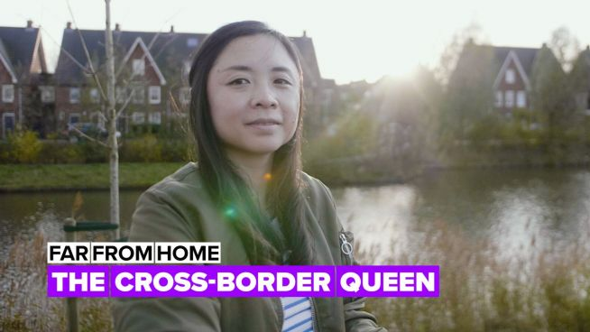 The woman behind the success of the transborder E-commerce