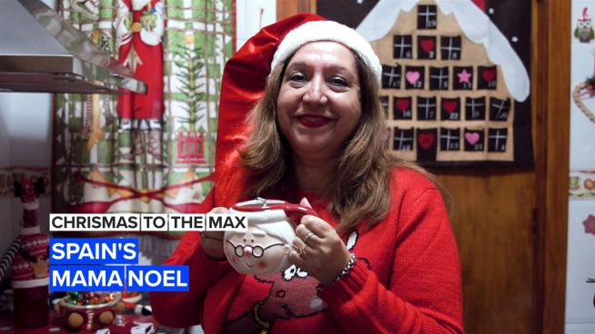 Mama Noel's 6,000 piece Christmas collection will leave you seeing Santas