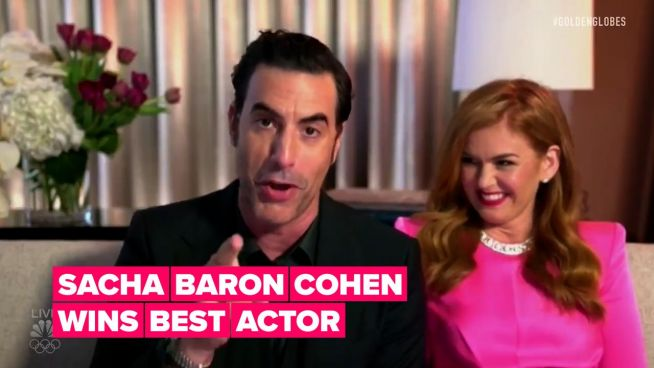 Surprised 'Borat' was a big winner at the Golden Globes? Don't be
