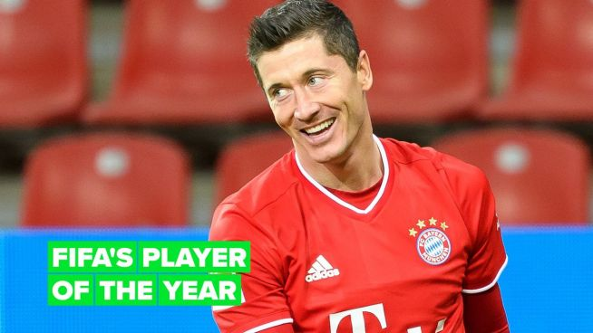 Robert Lewandowski is the best football player of 2020