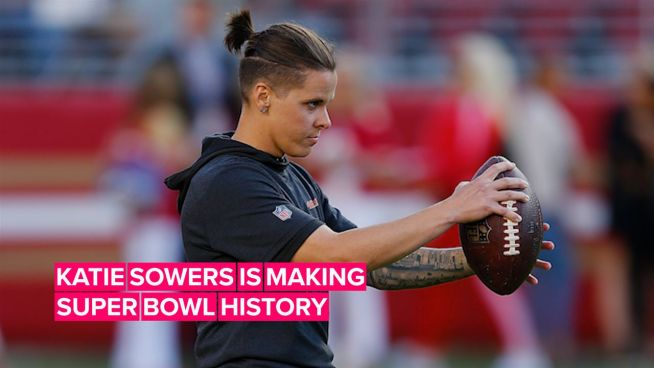 Here's why Katie Sowers is making NFL history