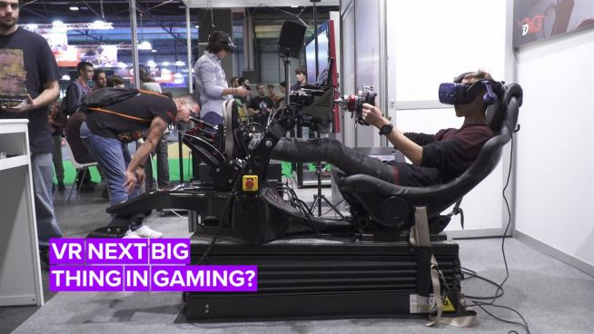 VR is taking the gaming world by storm