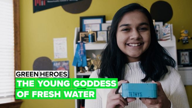 Green Heroes: One girl's mission of brining clean water to the world