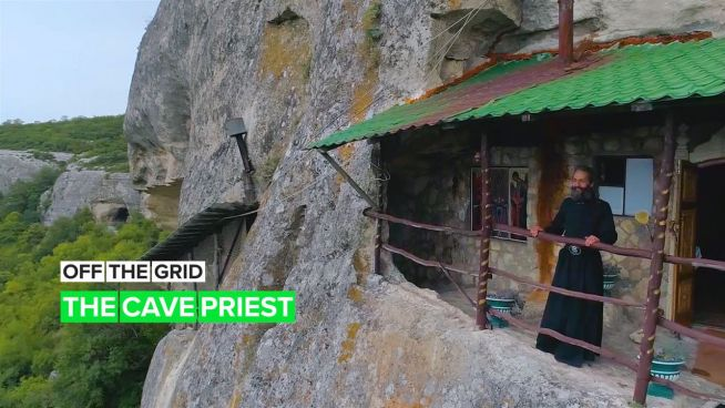 Off the Grid: The Cave Priest of Crimea