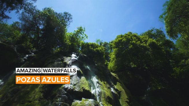 Amazing Waterfalls: The Secret of Taxco, Mexico