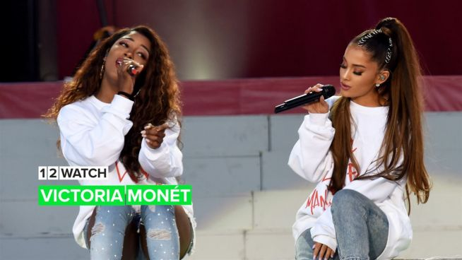 Time to shine for Ariana Grande's songwriter & BFF Victoria Monét