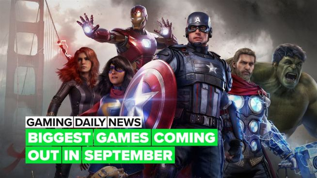 Are you ready for all the games coming out in September?