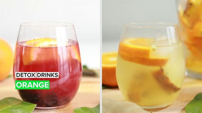 Get your detox on with the power of oranges