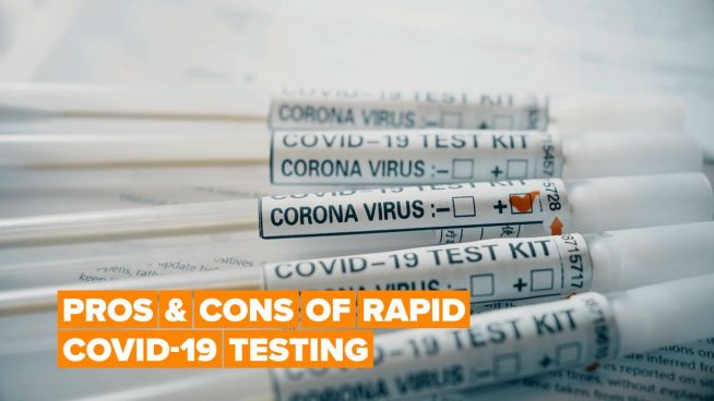 Are rapid COVID-19 tests all they're cracked up to be?