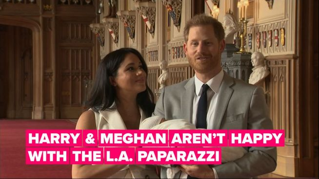 Harry and Meghan take on California's cutthroat paparazzi