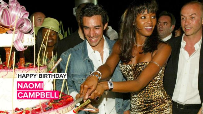 Naomi Campbell's most iconic party girl moments