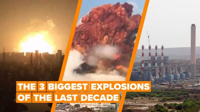The 3 biggest explosions to hit humanity in the last 10 years
