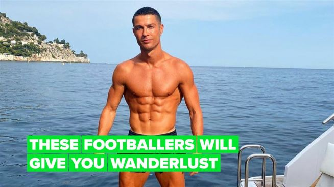 Cristiano, Zlatan & more footballers yachting in the Mediterranean