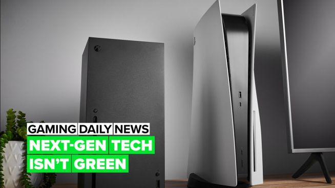 Next-Gen consoles aren't eco-friendly